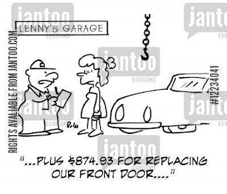 woman garage