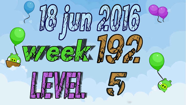 Angry Birds Friends Tournament level 5 Week 192