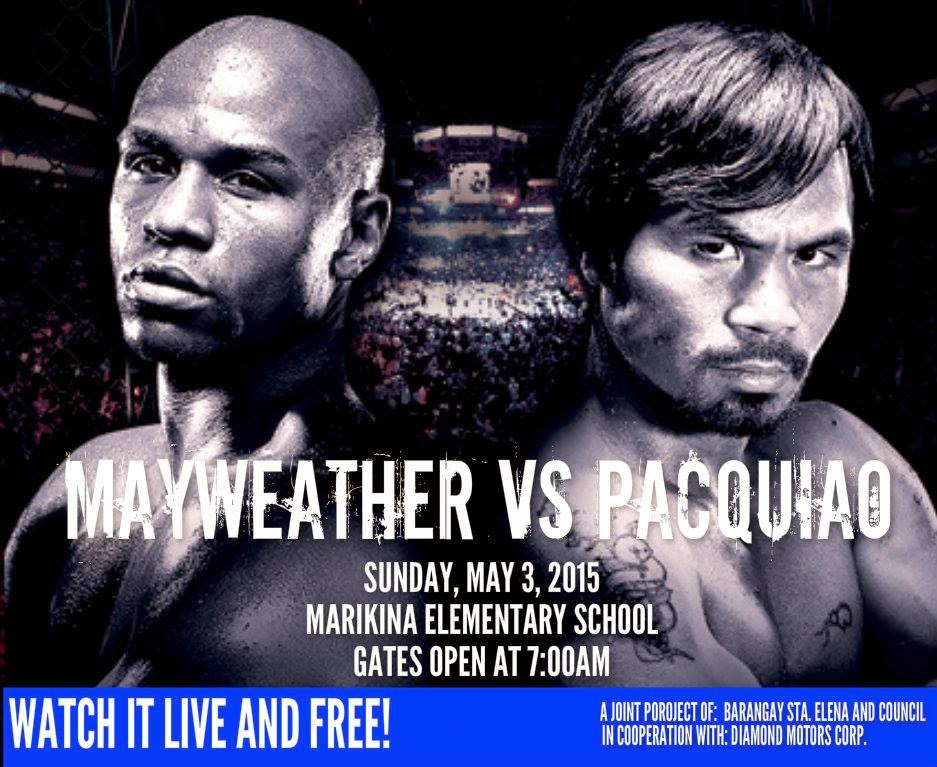 Watch Pacquiao vs Mayweather Fight For FREE