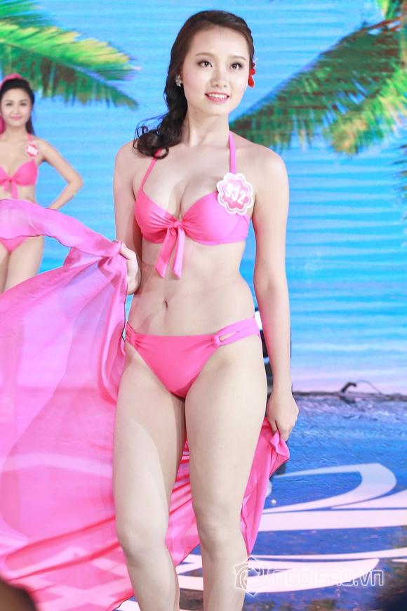 Ảnh gái xinh Hoa hậu miền bắc 2014 với bikini 22