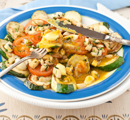Sautéed Zucchini, Mushrooms and Tomatoes with Curry Sauce at Cooking ...