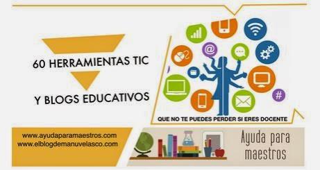 http://www.ayudaparamaestros.com/2015/04/40-herramientas-tic-y-blogs-educativos.html#more