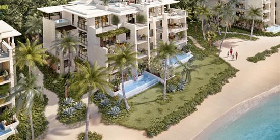 Beachfront condominium, Puerto Rico