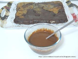 Preparando cobertura tarta fondant 2