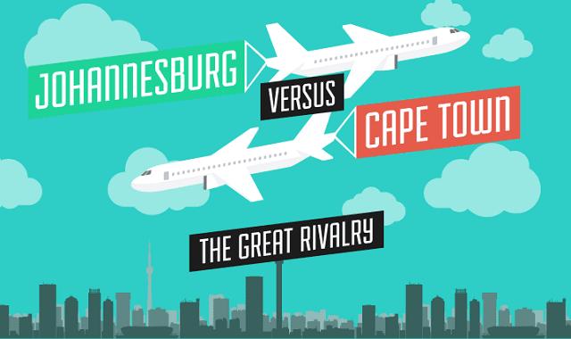 Johannesburg Versus Cape Town