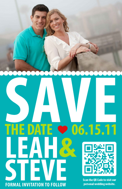 receive wedding rsvp 39s using QR codes on their invitations and save the