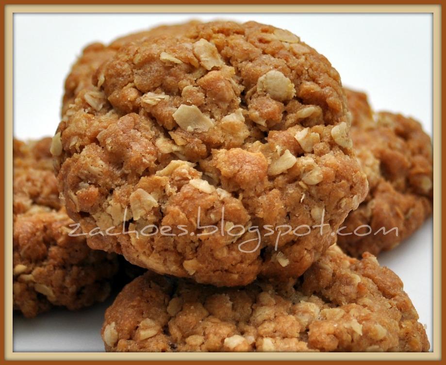 Resepi ANZAC Butterscotch Cookies