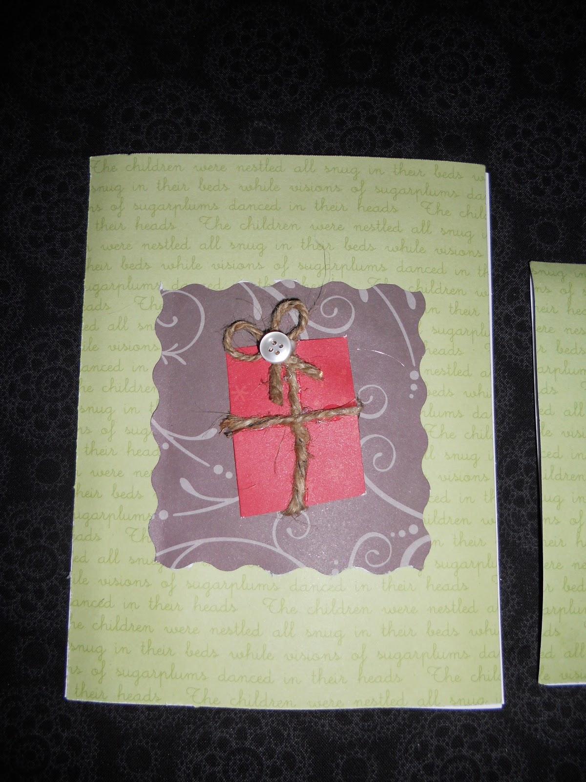 Crafting Made Simple: Simple Christmas card ideas
