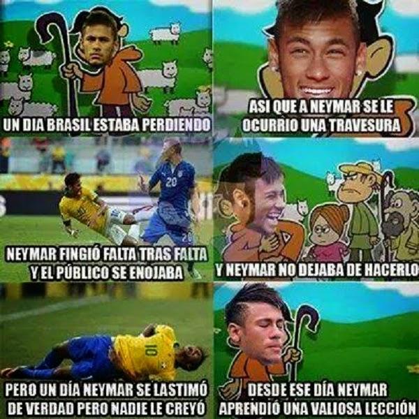 Neymar aprendió la valiosa lección