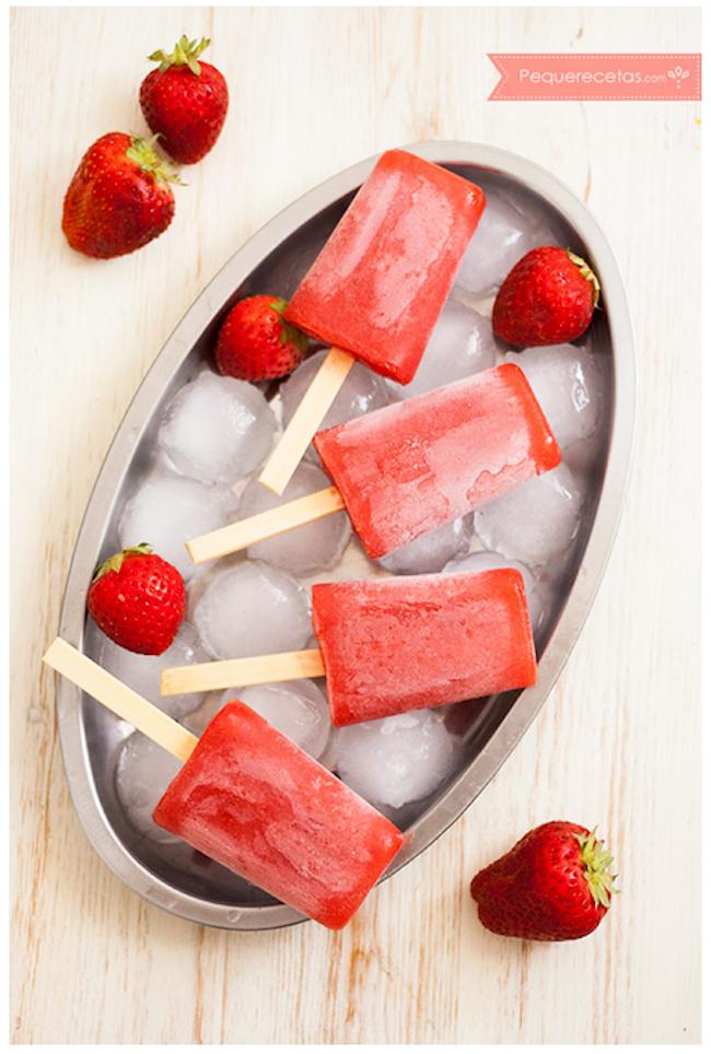 ghiaccioli alla frutta