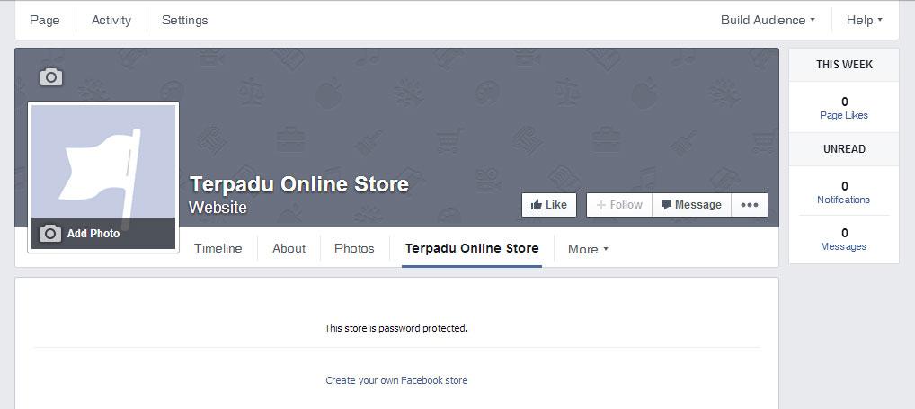 Cara Membuat Facebook Online Store 13