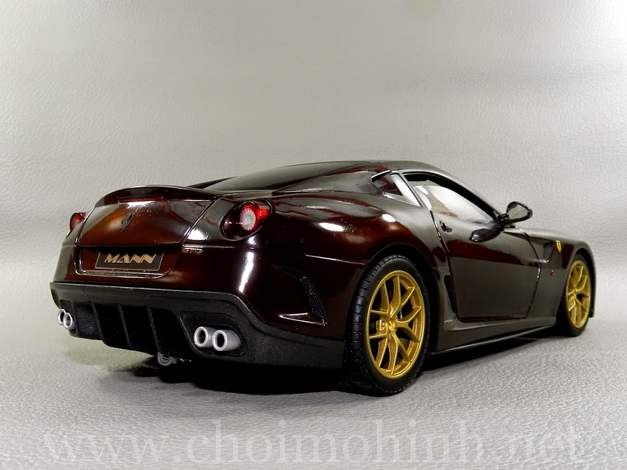 Ferrari 599 GTO Michael Mann 1:18 Hot Wheels back