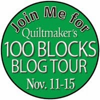 Quiltmaker 100 Designer Blocks Volume 8 Blog Tour