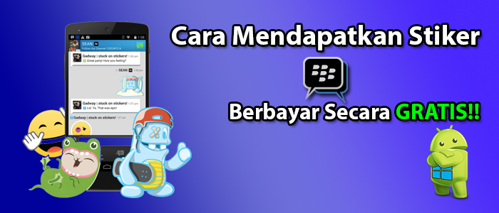 BBM Mod Android Free Sticker