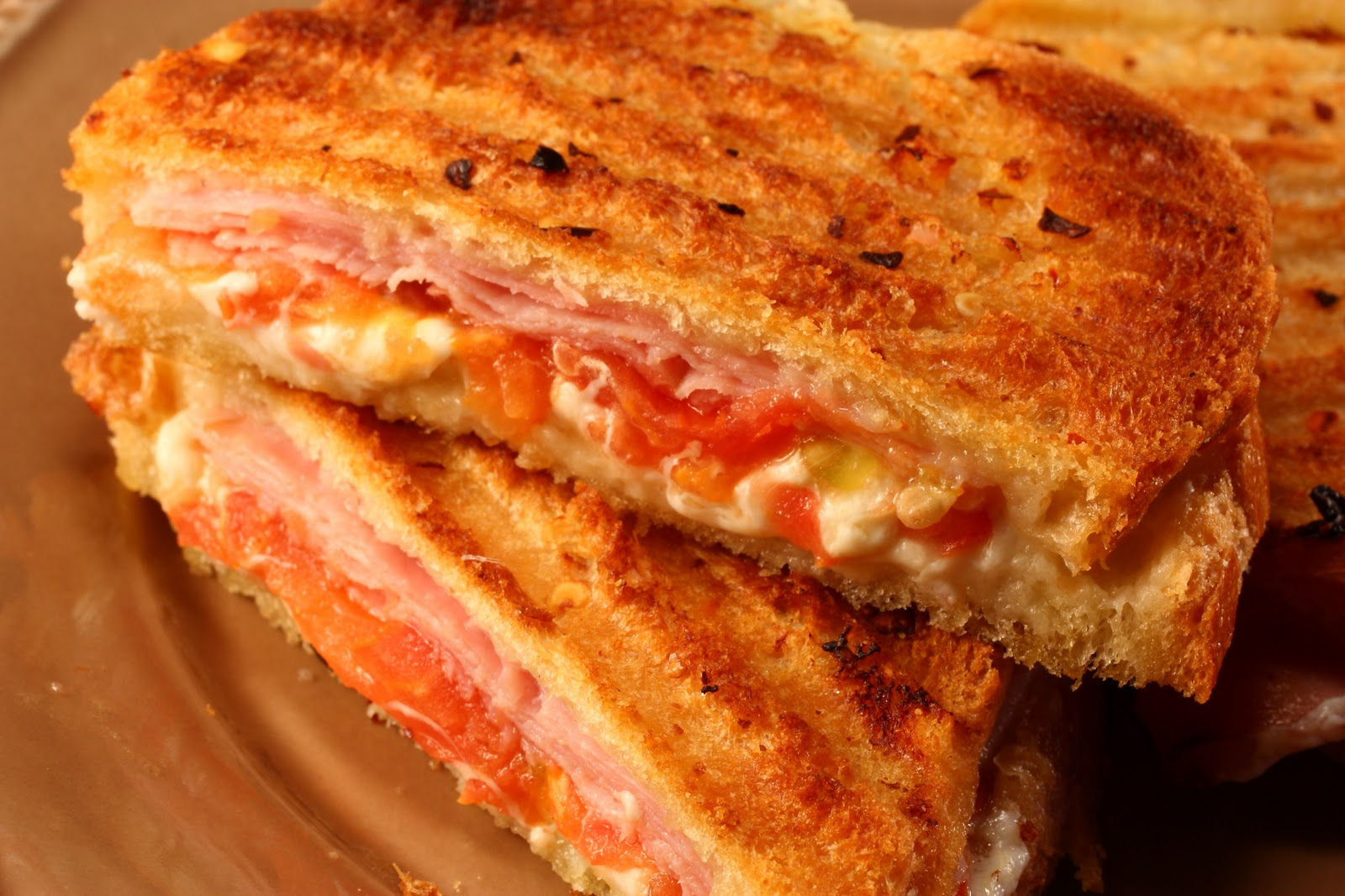 Chef Chuck's Cucina: Chef Chuck's Italian Grilled Ham and Cheese