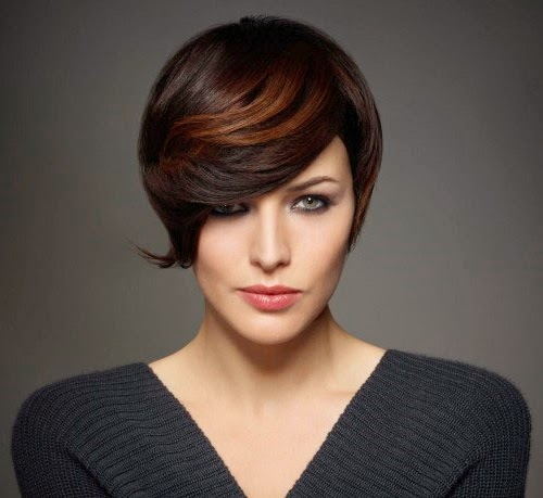 womens short hairstyles 2014