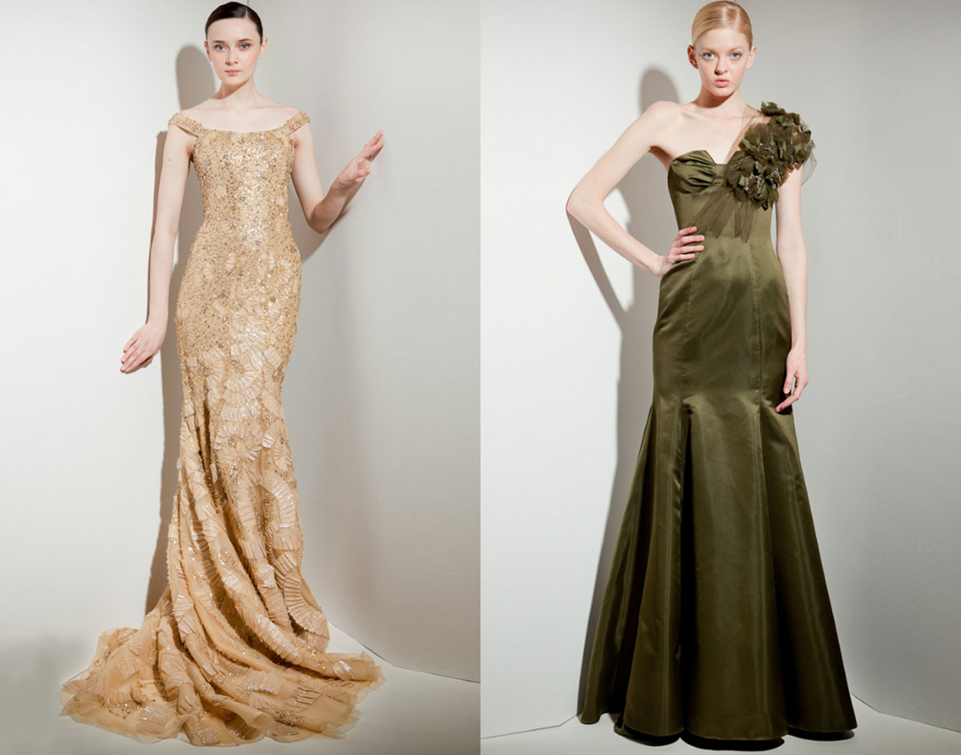 Vera Wang Evening Gowns