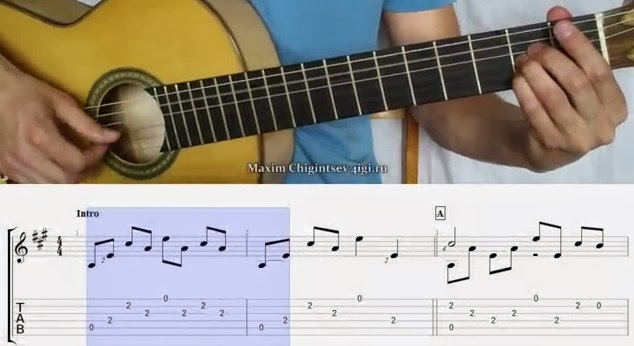 belajar tab gitar untuk pemula