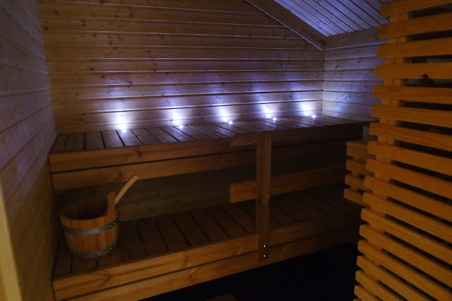 Private Sauna At Celtic Manor Resort