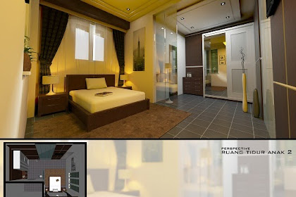 Solusi Gambar Desain Interior bagi anda yang membutuhkan Desain Kamar Tidur