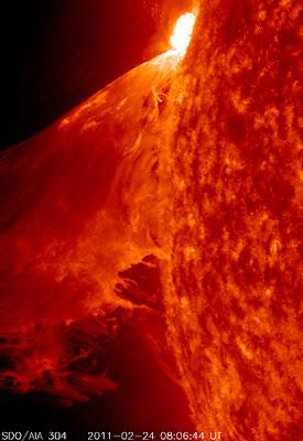 edge of the Sun