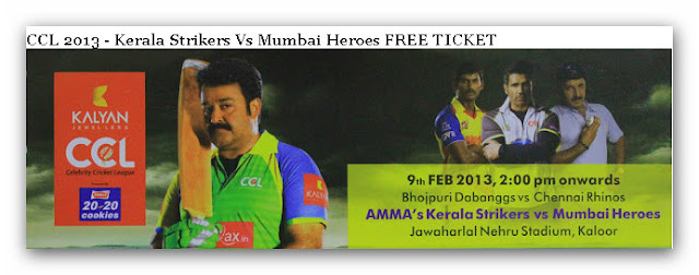 free ccl tickets  2013
