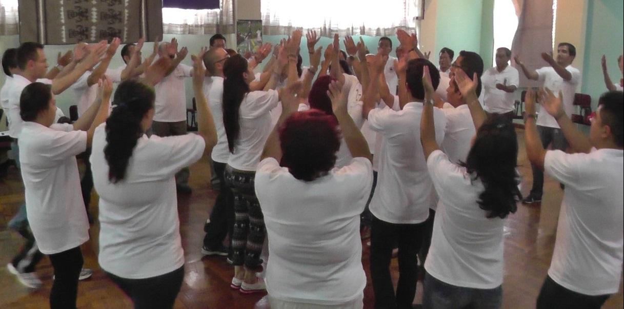 Danzas Sagradas en el VI Encuentro Mundial de OPI - EIFI