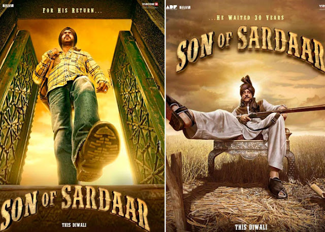 Son of Sadaar - First Look Posters