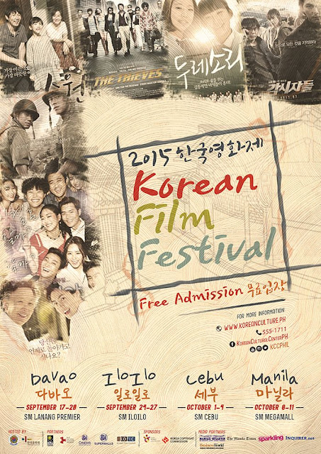 Korean Film Festival 2015 - Free Admission