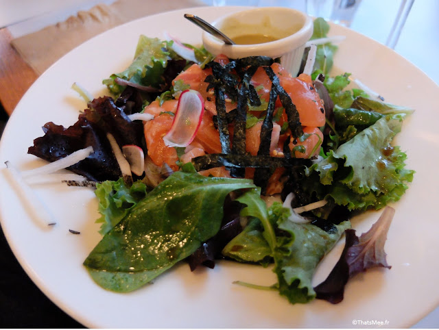 chirashi saumon salade du Centreville, Restaurant à Paris 11ème  charonne Keller
