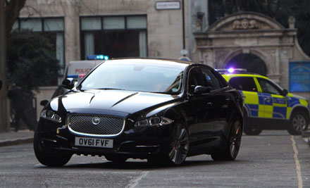 Skyfall M Jaguar XJ at The Hospital Club