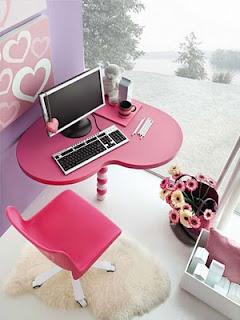 Kumpulan Kamar Anak Warna Pink, kamar warna pink
