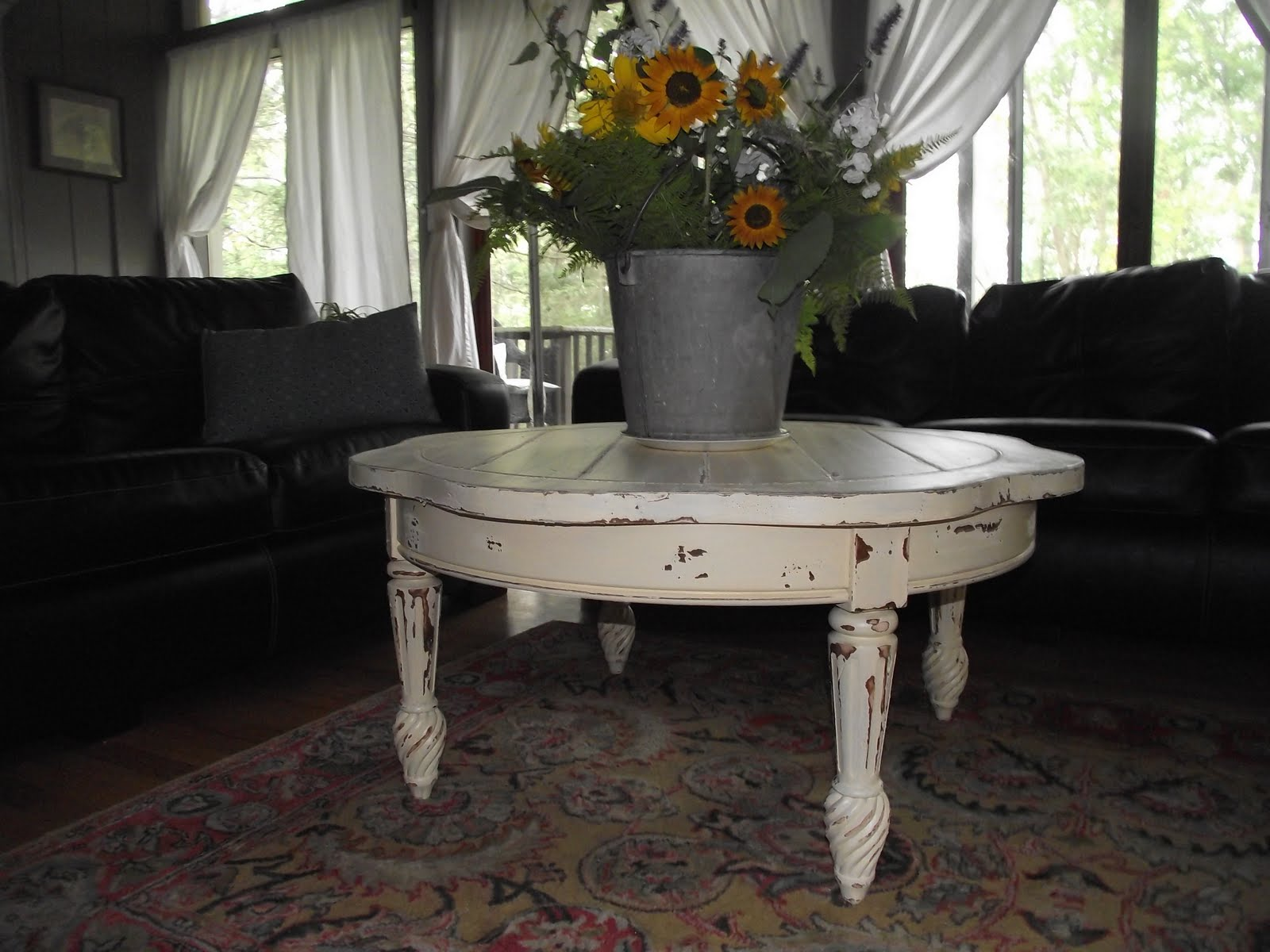 Serendipity chic design eclectic coffee table Eclectic coffee table makeovers