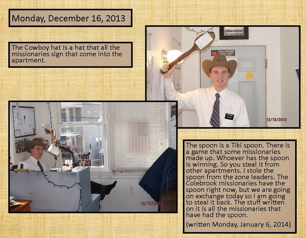 December 16, 2013 - Tiki Spoon and Cowboy Hat