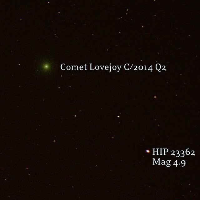 new years eve comet lovejoy