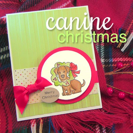 Canine Christmas Stamp set from Newton's Nook Designs
