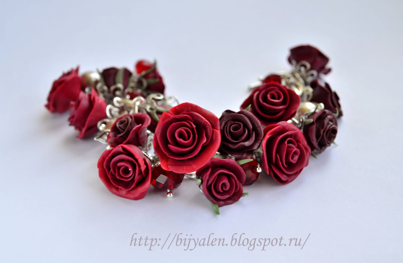Браслеты с розами своими руками фото 648