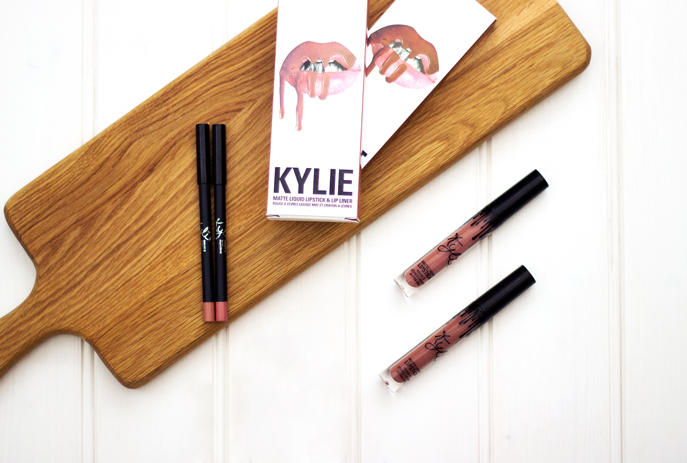 Lip Kit By Kylie Jenner, Lip Kit by Kylie Dolce K, Lip Kit by Kylie Candy K