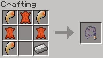 Mo' Creatures crafting látigo león Minecraft mod