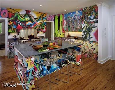 Mural Design Graffiti On Home Room At Graffiti Art Design