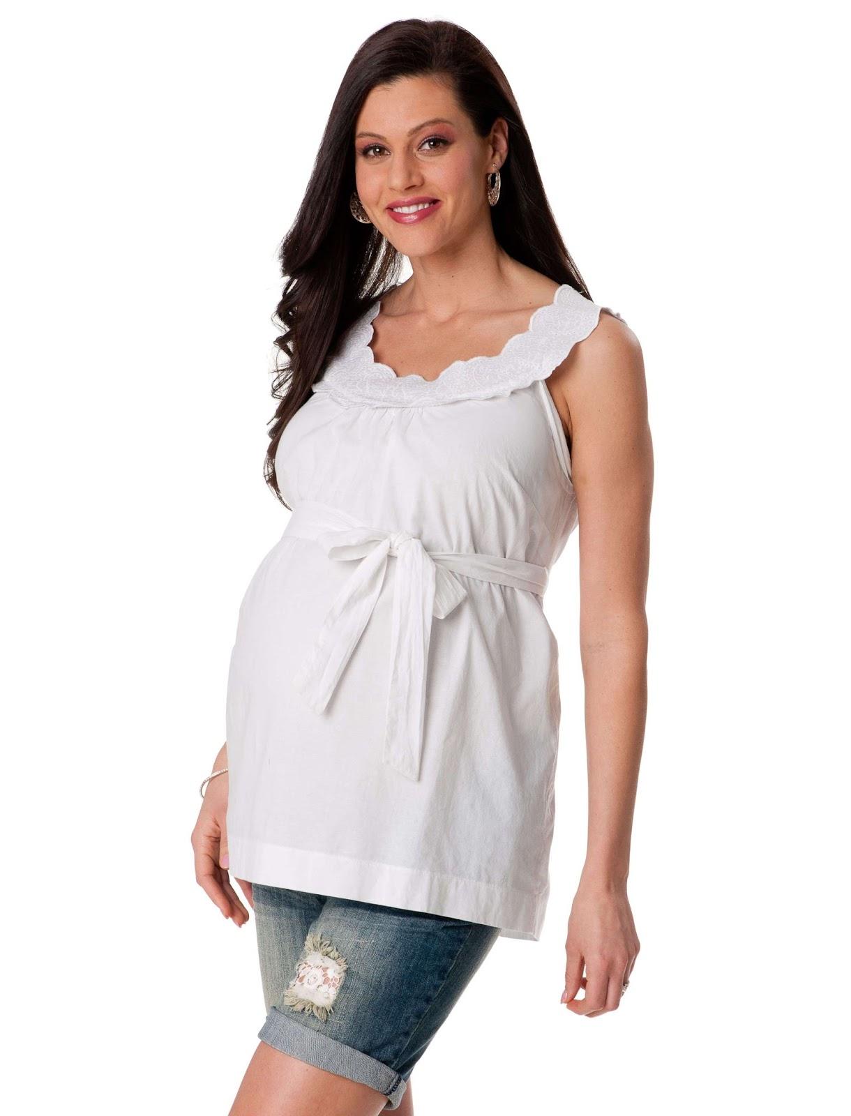 Tu Portal Bebé: Blusas para embarazadas