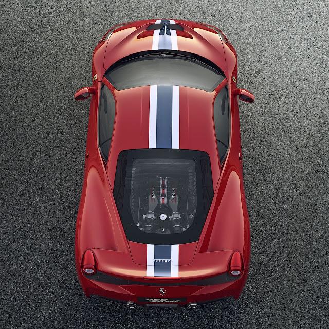 Ferrari 458 Speciale V8 top