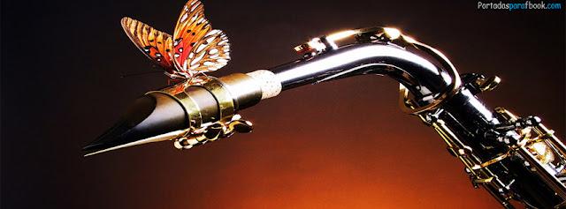 mariposa en un instrumento