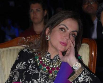 Nita Ambani Face close up - Nita Ambani at Olive Crown Awards 2012