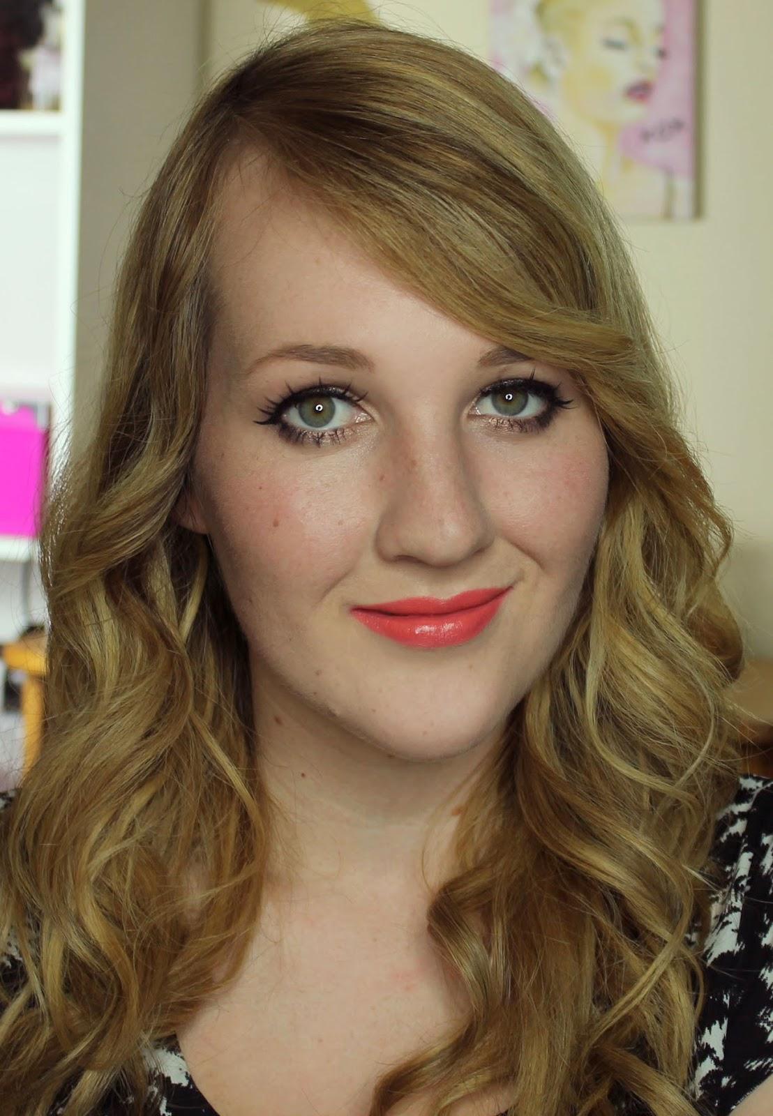 MUA Lipsticks - #16 Nectar Swatches & Review