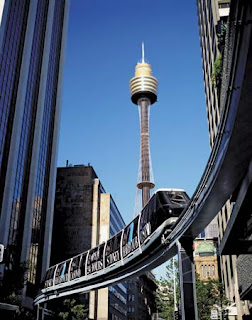 Sydney Tower is Sydney