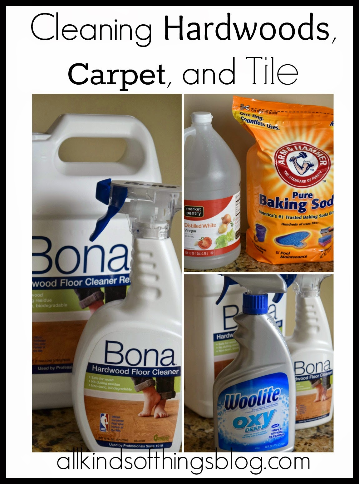 All Kinds of Things My Favorite Cleaning Products