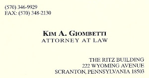 Kim A. GIOMBETTI ATTORNEY AT LAW