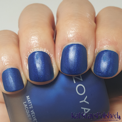 Zoya Matte Velvet 2015 - Yves | Kat Stays Polished