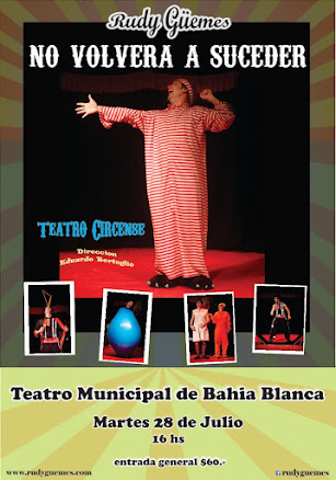 martes 28 de julio // Teatro Municipal de Bahia Blanca